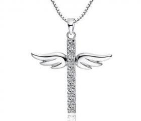 Sterling Silver Ange..