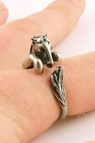 Horse Animal Ring Jewellery - Bronze