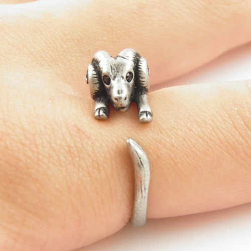Hot Sale Ram Animal Wrap Rings