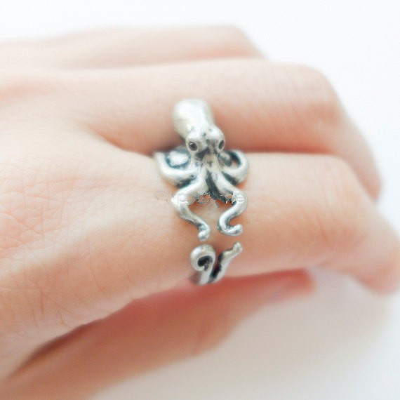 Hot Sale Octopus Animal Wrap Ring