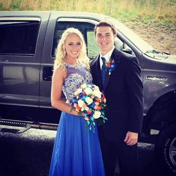 Royal Blue Prom Dress, A-Line Prom Dresses,Evening Dress